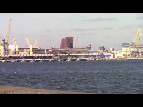 Klaipeda port ship transport