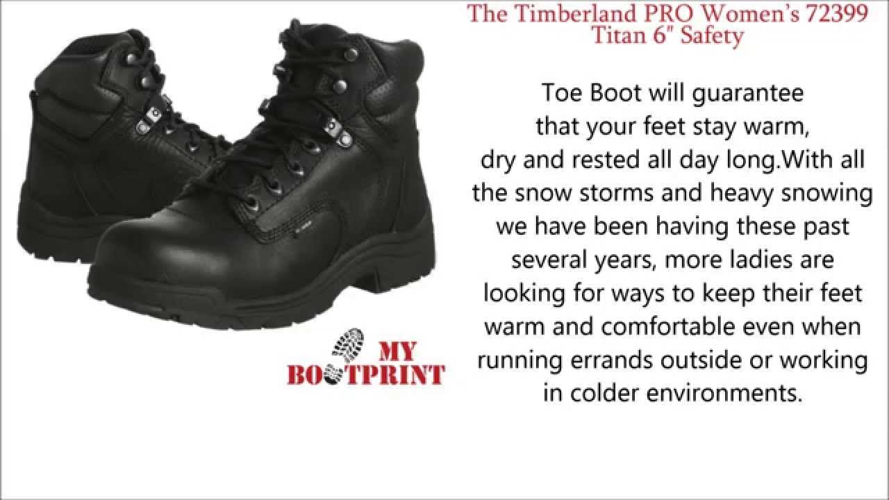 72399 Titan 6″ Safety Toe Boot Review