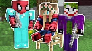 Zengin Örümcek Adam'ın Karısı Kaçırıldı - Minecraft Zengin vs Fakir Örümcek Adam Video