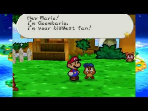 Paper Mario [2]: Goomba + Mario = Goombario