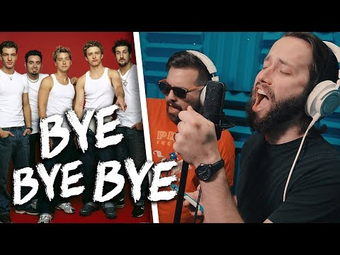 *NSYNC - Bye Bye Bye (METAL cover by Jonathan Young & Caleb Hyles)