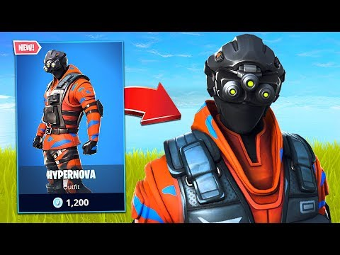New Hypernova Tech Ops Soldier Skin! (Fortnite Battle Royale)