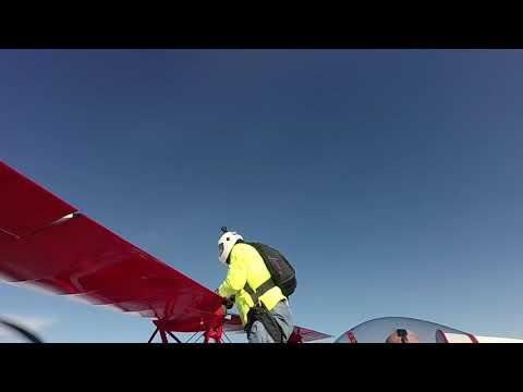 skydive biplane Tennessee. Felipe Reategui Masjuan.