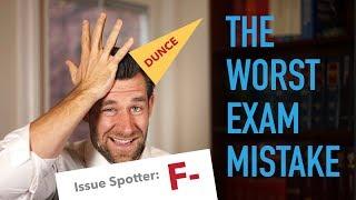 The Most Common Law School Exam Mistake | Essay Advice