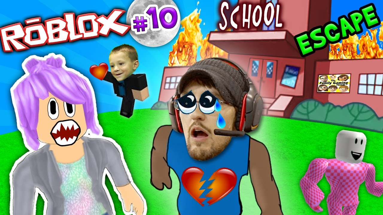 Chase Stole My Best Friend Roblox 10 Escape From School Obby Fgteev Weird Roleplay - escapa de la escuela roblox en espa#U00f1ol youtube