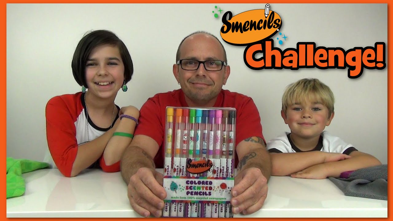 Challenge! - Smencils Colored Pencils- Tag By WookieWarrior23