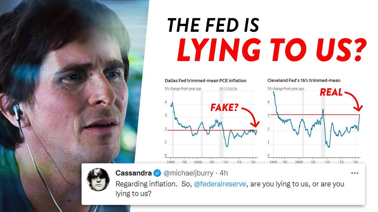 Download Michael Burry CALLS OUT The Fed's Inflation Metrics