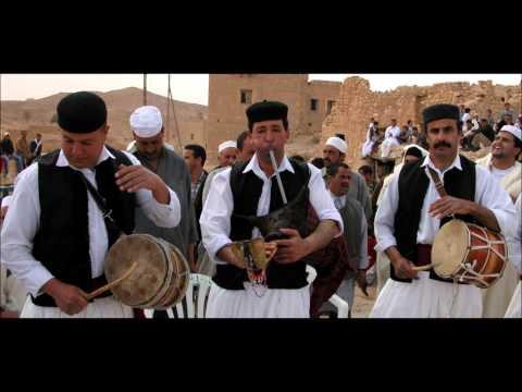 Traditional Libyan Wedding Music 2-Zukra (Libyan Bagpipes)