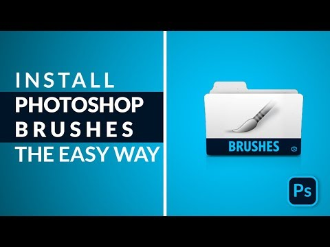 How to Install and Use Photoshop Brush - Adobe Photoshop Tutorial thumbnail