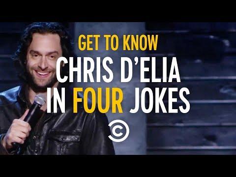 Get To Know Chris D'Elia In Four Jokes