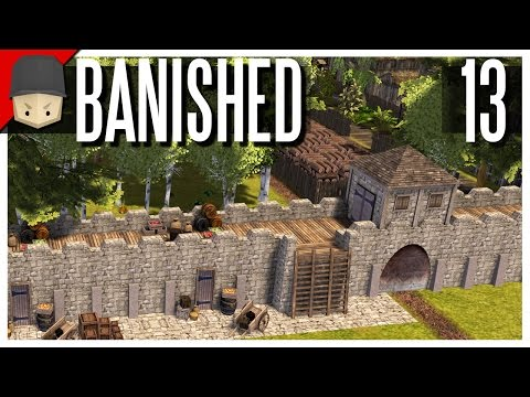 Banished - S2 Ep.13 : The City Wall! (Modded Banished)