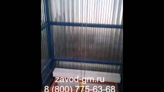 Подъемник/лифт в глухой шахте для грузов(, 2016-03-06T12:23:01.000Z)
