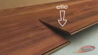Ugradnja laminata CLICK