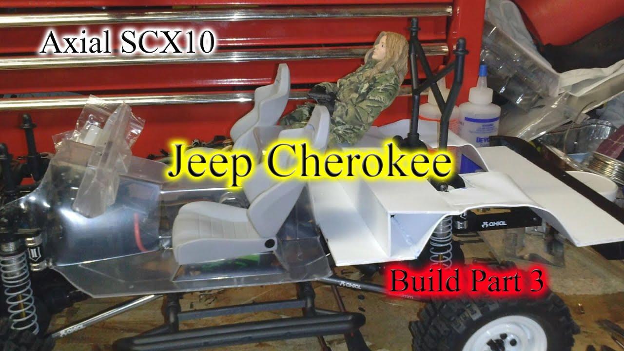 Axial SCX10 Jeep Cherokee Build Part 3