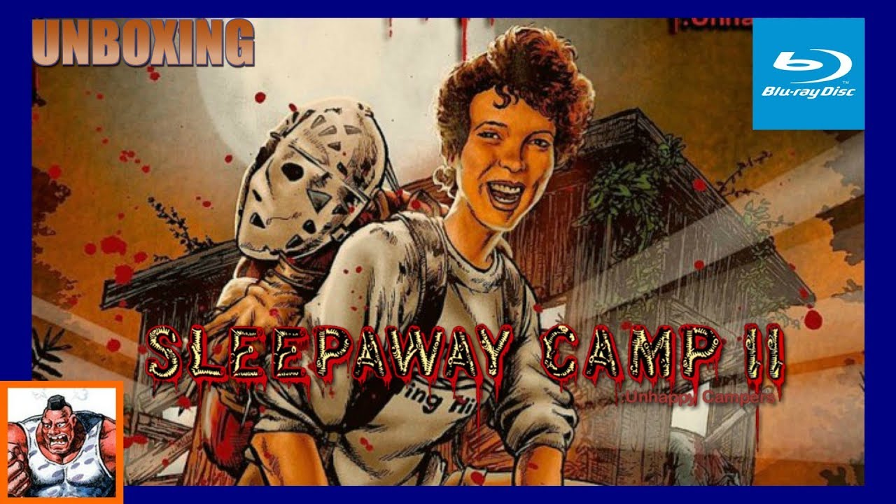 Download Sleepaway Camp II Unhappy Campers Collector's Edition Scream Factory Blu Ray Unboxing