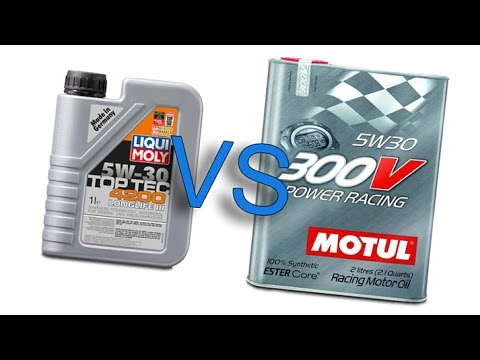 liqui moly 4200 toptec longlife iii 5w30 vs motul 300v. Black Bedroom Furniture Sets. Home Design Ideas