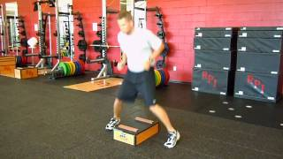 Low Box Straddle Jumps