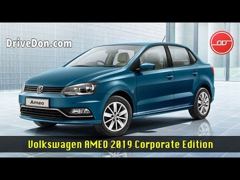 Volkswagen Ameo 2019 Corporate Edition - Sedan Cars Under 10 Lakh In India 2019