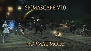 FFXIV - Omega: Sigmascape V1.0 (Normal) Gameplay [No commentary]