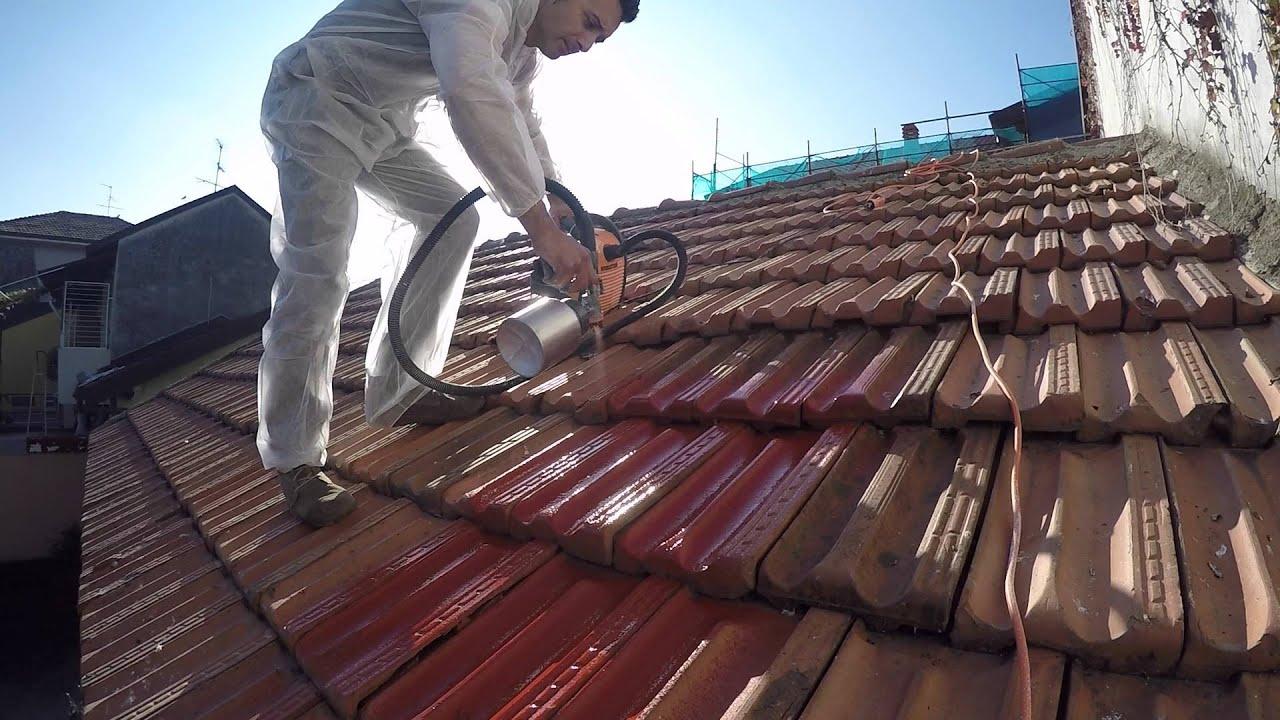 Come Dipingere Vecchie Tegole nuova vita per il tuo tetto!