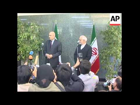 Chief of UN atomic agency meets Iranian officials
