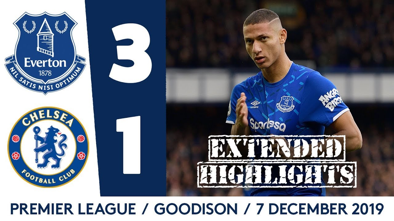 Download INCREDIBLE ATMOSPHERE, HUGE WIN!   EXTENDED HIGHLIGHTS: EVERTON 3-1 CHELSEA
