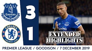 Download INCREDIBLE ATMOSPHERE, HUGE WIN! | EXTENDED HIGHLIGHTS: EVERTON 3-1 CHELSEA Mp3 and Videos
