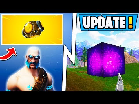 *NEW* Fortnite 5.5 Update! | Map Changes, Cube Event Date, Port-a-Fortress!