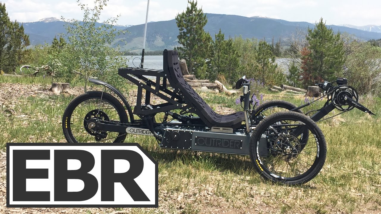 Outrider Alpha 4 Series Video Review 45 Mph Rebent Electric Trike You