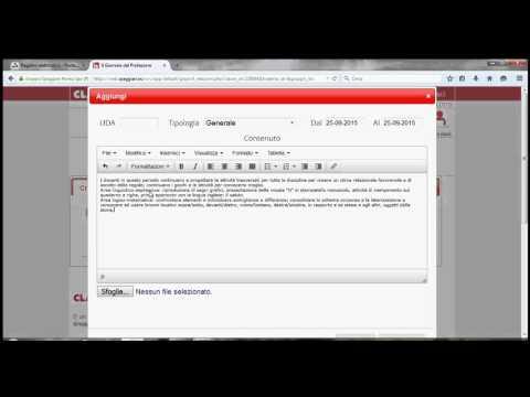 Inserire la programmazione di classe nel registro elettronico Spaggiari