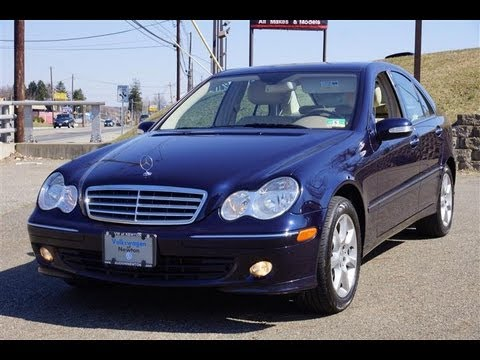 2007 mercedes benz c280 4matic youtube for Mercedes benz 2007 c280