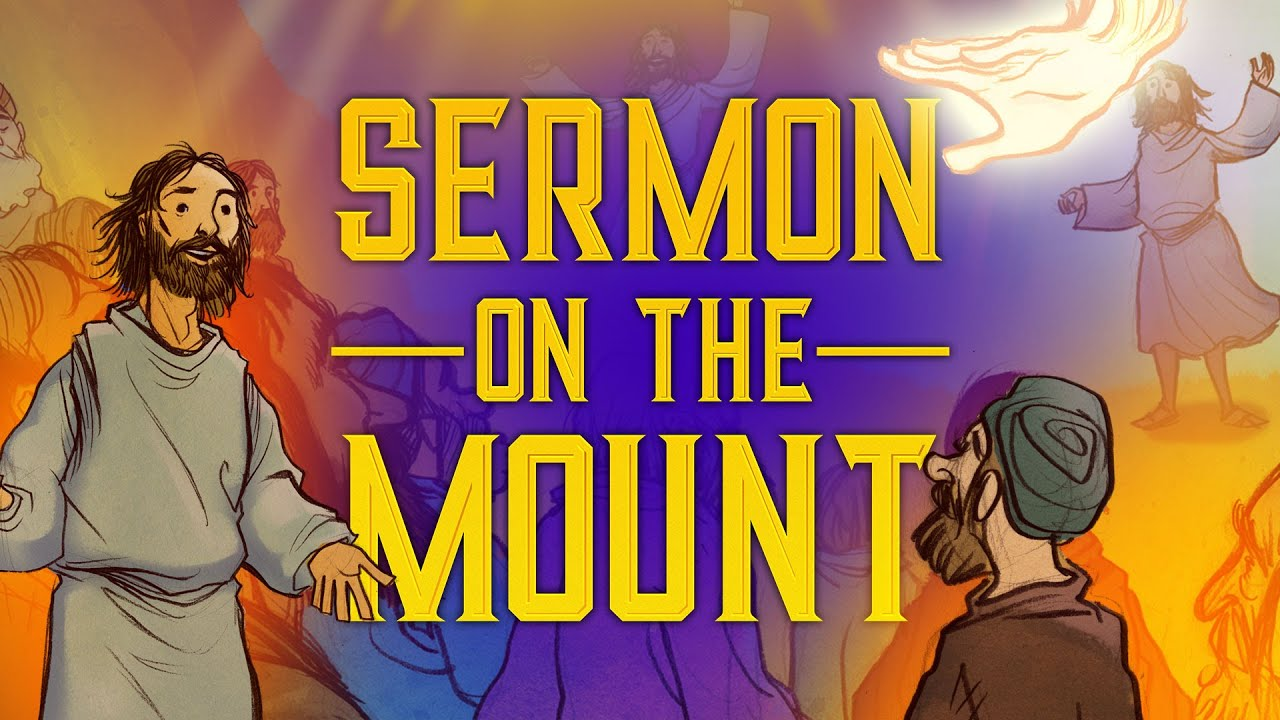 Jesus and The Sermon on the Mount - Matthew 5 | Sunday School Lesson and  Bible Story for Kids |HD|