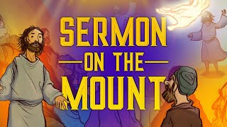 Sunday School Lesson for Kids - Sermon on the Mount - Matthew 5 - Bible Stories for Teaching VBS