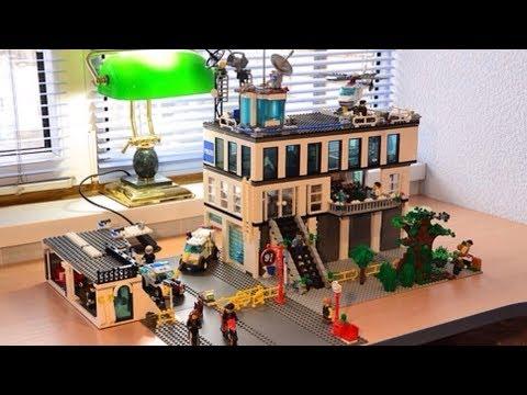 Лего Обзор на Полицейский участок