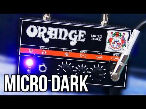 Orange Micro Dark - Metal | Pete Cottrell