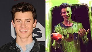Shawn Mendes WINS Favorite Male Singer & Gets SLIMED At The 2018 Kids' Choice Awards