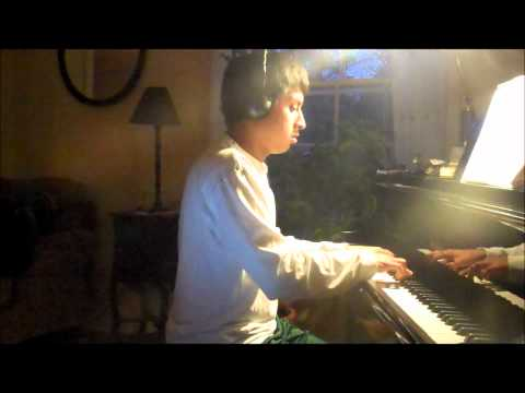 Eric Whitacre - The Seal Lullaby on piano