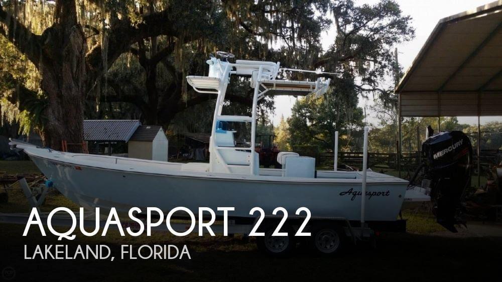[UNAVAILABLE] Used 1972 Aquasport 222 in Lakeland, Florida