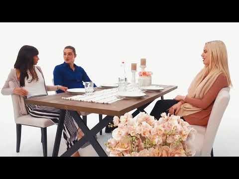 Esstisch Set Milena, Martinotti Möbel, originelle Einrichtung für dein Esszimmer