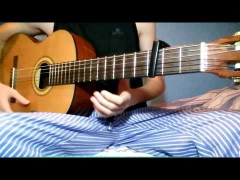 Punteo Guitarra Mi Estrella Blanca Fondo Flamenco