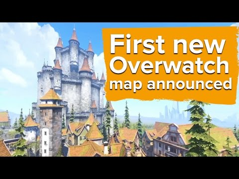 Take a look at Eichenwalde, the new map for Overwatch