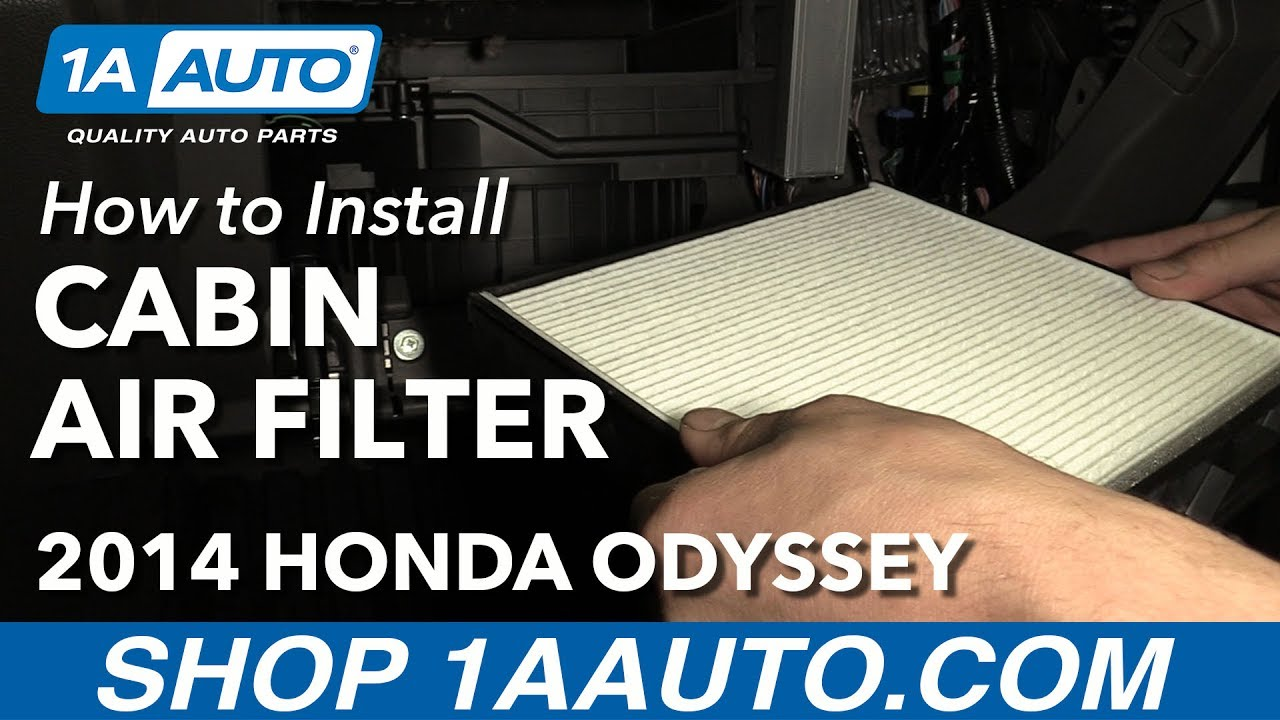 How To Install Replace Cabin Air Filter 2005 16 Honda Odyssey Buy Quality  Auto Parts At 1AAuto.com