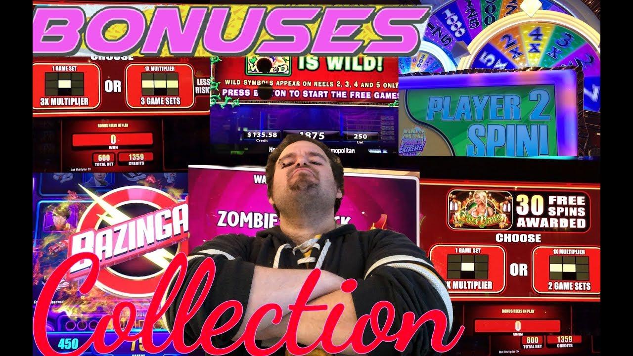 Slot Machine With Bonus Rounds