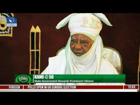 News Across Nigeria: Kano State Govt Rewards Prominent Citizens