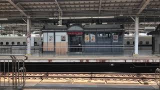 横から眺める新幹線ってかっこいい?!【500系V2編成 ハローキティ新幹線】 @新大阪駅