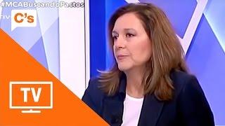 """Carina Mejías: """"Al PSC dentro de poco, ya no le va a quedar a nadie por imputar"""""""