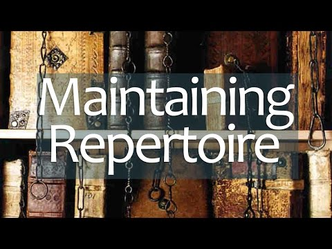 Keep your tunes: How to Maintain Classical Guitar Repertoire (and be a better player)