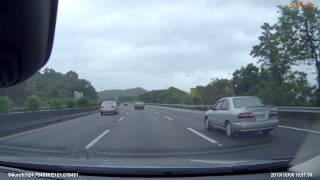 國道三號高速追撞