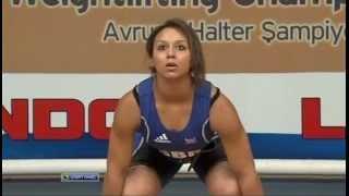 2012 European Championships Women 58 Kg