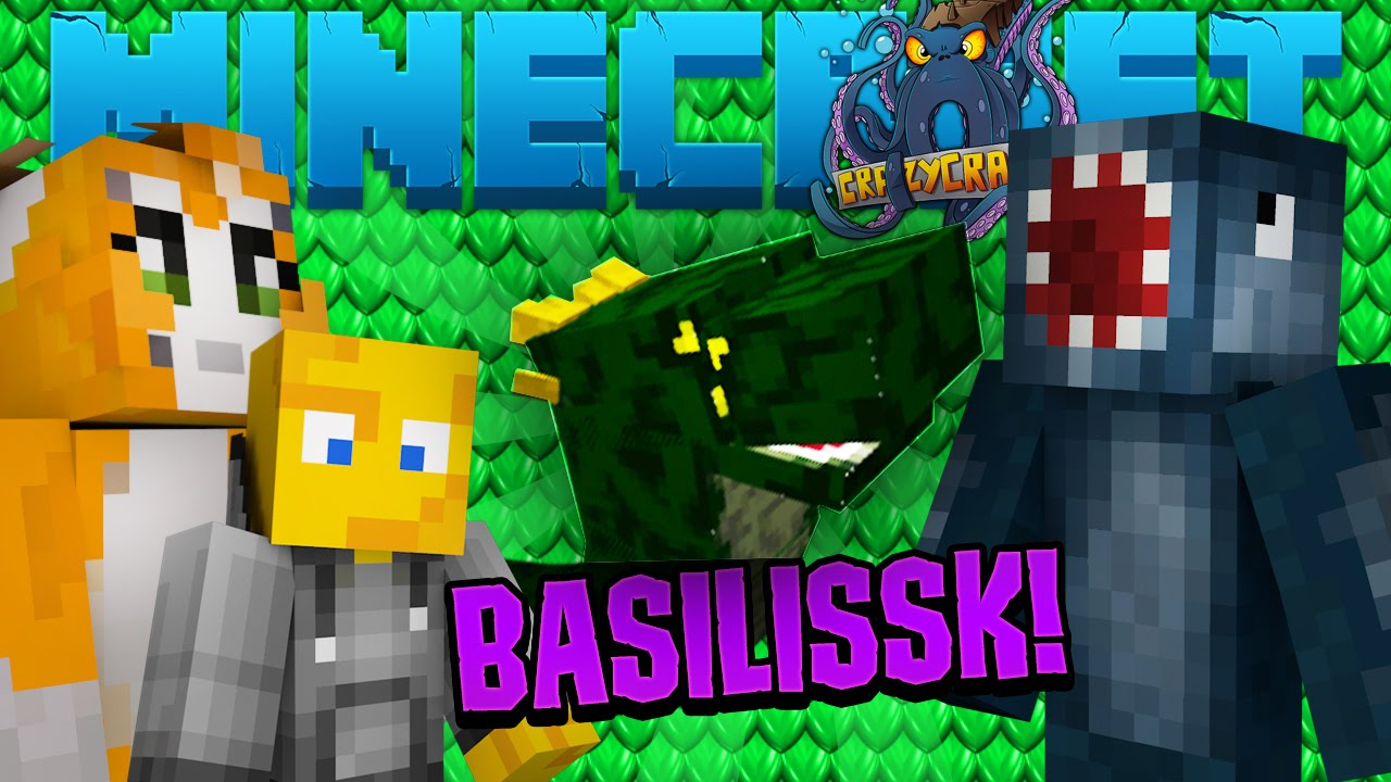 Minecraft Crazy Craft Videos By Iballisticsquid
